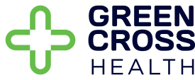 Green Cross Health Logo - partner with AusVacs in providing pharmacy flu vouchers to NZ residents